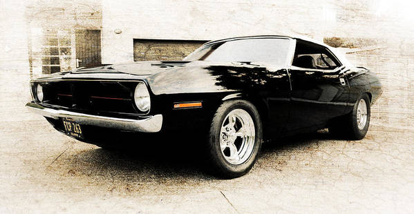Plymouth Cuda Art Print featuring the photograph 1970 Plymouth Cuda by Phil 'motography' Clark