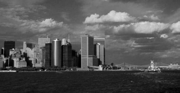 New York Art Print featuring the photograph Throughput by Justin Robertson