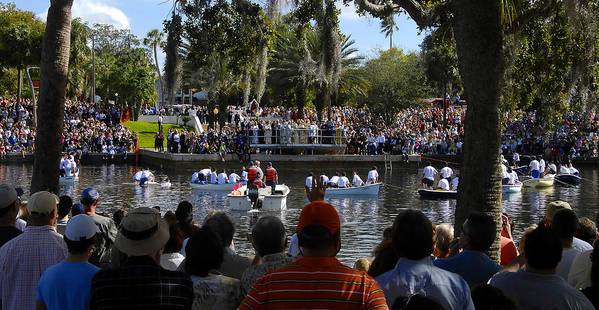 Panoramic Photography Art Print featuring the photograph Epiphany At Spring Bayou by David Lee Thompson