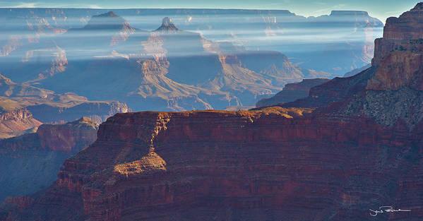 Arizona Art Print featuring the photograph Horizontal Light by Jens Peermann