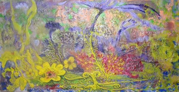 Art Print featuring the painting Spirit Garden by Heather Hennick