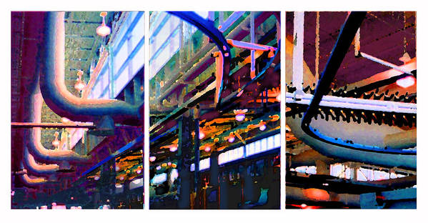 Abstract Art Print featuring the photograph Star Factory by Steve Karol