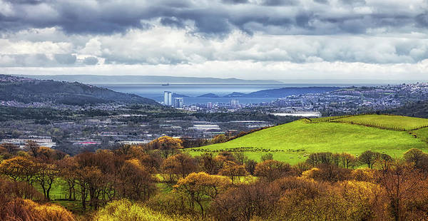 Swansea Art Print featuring the photograph Swansea And Mumbles by Leighton Collins