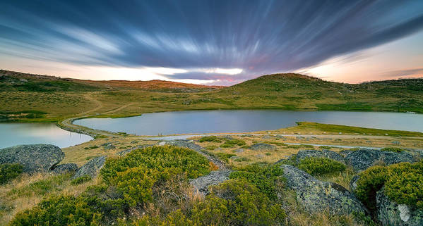 Pretty Valley Art Print featuring the photograph Exposed By Time by Mark Lucey