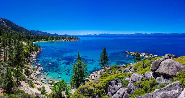 America Print featuring the photograph Lake Tahoe Summerscape by Scott McGuire