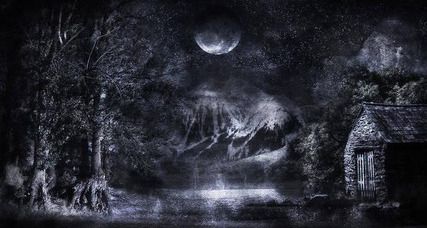 Art Art Print featuring the digital art Magical Night by Svetlana Sewell