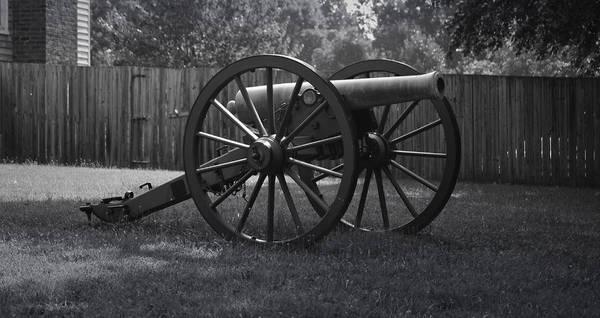 Appomattox Print featuring the photograph Appomattox Cannon by Teresa Mucha