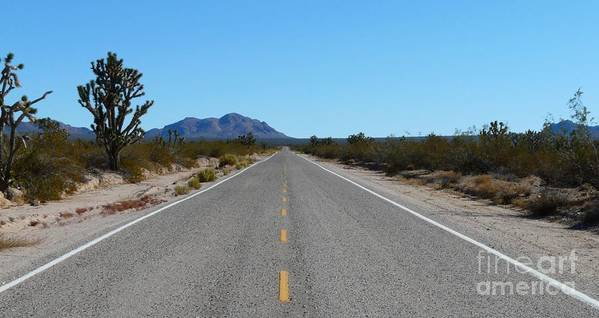Road Art Print featuring the photograph On The Road by Ellen Leigh