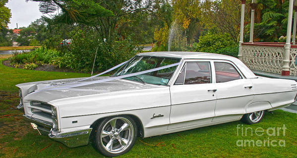 Pontiac Photographs Art Print featuring the photograph Your Chariot Awaits by Joanne Kocwin