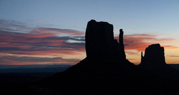 Monument Art Print featuring the photograph Mv Mitten Sunrise 7636 by Bob Neiman