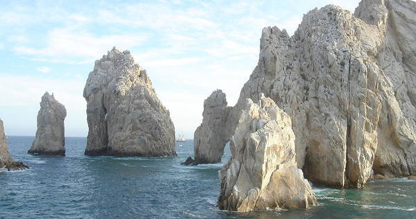 Ocean Art Print featuring the photograph Sailing In Los Cabos by John Julio