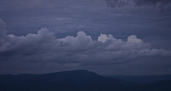 Roanoke Art Print featuring the photograph Storm Clouds Over The Valley by Teresa Mucha