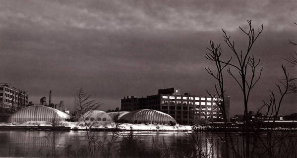 Long Island City Art Print featuring the photograph Twilight On The Other Side by Andrea Simon