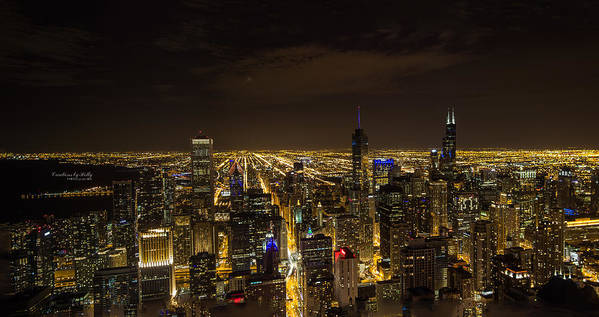Chicago Art Print featuring the photograph View From The 96th by Holly Carpenter