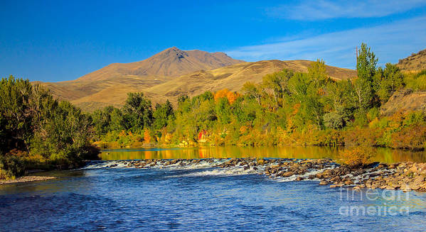 Idaho Art Print featuring the photograph Bridge View by Robert Bales
