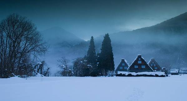 Winter Art Print featuring the photograph Still Of Evening by Aaron Bedell