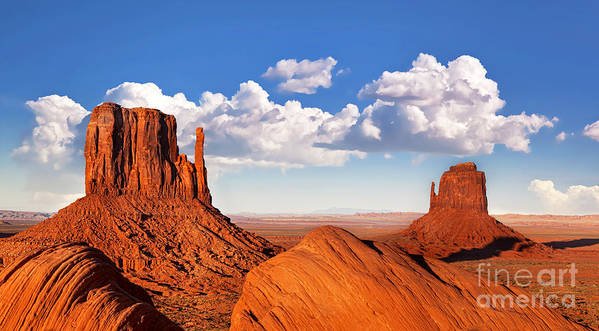 America Art Print featuring the photograph Monument Valley by Jane Rix