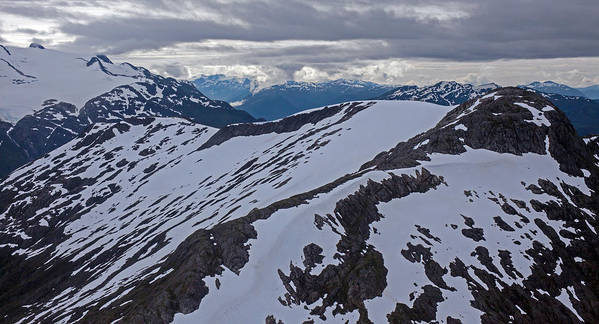 Frederick Sound Art Print featuring the photograph Above The Ridge by Mike Reid