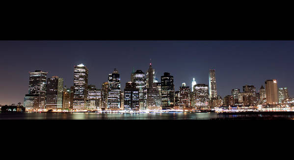 Nyc Art Print featuring the photograph Downtown Nyc by Tolga Cetin