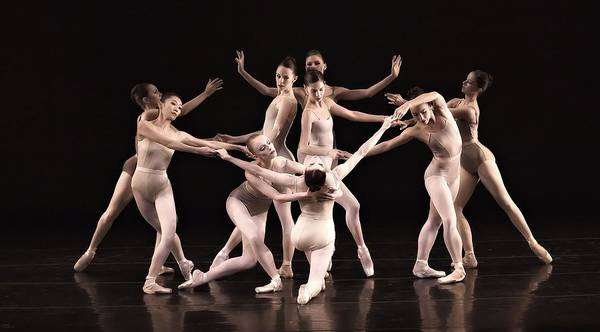 Ballet Print featuring the photograph Just The Gals by Kenneth Mucke