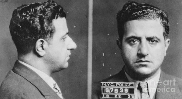1936 Print featuring the photograph Albert Anastasia (1902-1957) by Granger