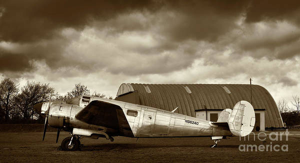 Beechcraft Art Print featuring the photograph Beechcraft 18 Expeditor by Richard Allen