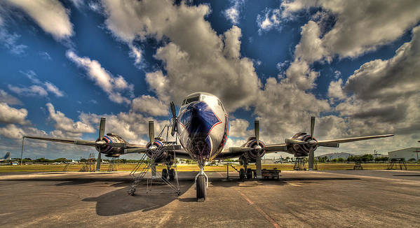 Aircraft Art Print featuring the photograph Blue Yonder by William Wetmore