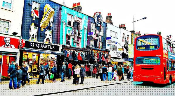 Camden Art Print featuring the photograph Camden High Street by JAMART Photography