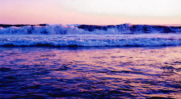 Pacific Ocean Art Print featuring the photograph Pacifac Sunset 23 Wc by Lyle Crump