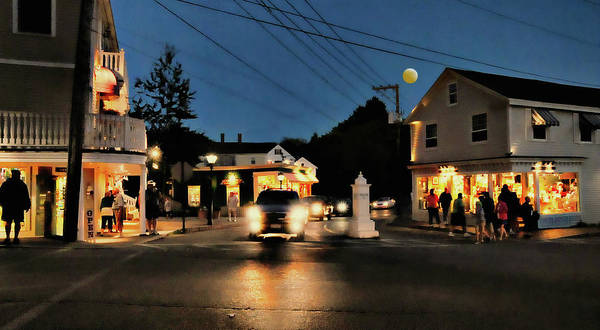 Kennebunkport Maine Art Print featuring the photograph Route 9 by Diana Angstadt