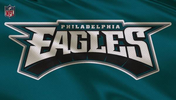Eagles Art Print featuring the photograph Philadelphia Eagles Uniform by Joe Hamilton