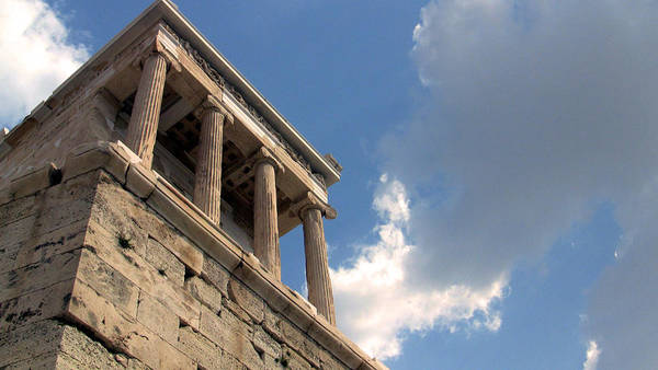 Athens Art Print featuring the photograph Athena Nike View by Gary Henderson