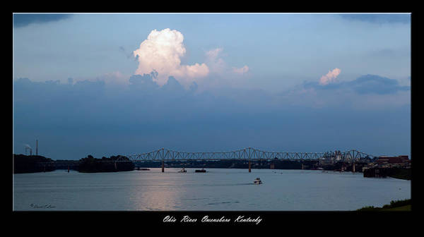 David Lester Print featuring the photograph Clover Cary Bridge 2 by David Lester