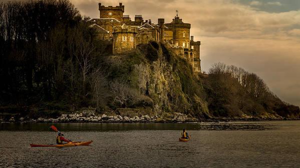 Ayrshire Art Print featuring the photograph Culzean Castle Scotland by Alex Saunders