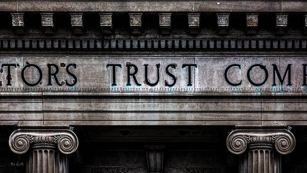 Depositors Trust Company Art Print featuring the photograph Depositors Trust Company by Bob Orsillo