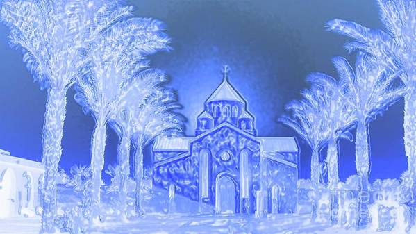 Church Art Print featuring the photograph Going To Church On Christmas by Sherri's - Of Palm Springs