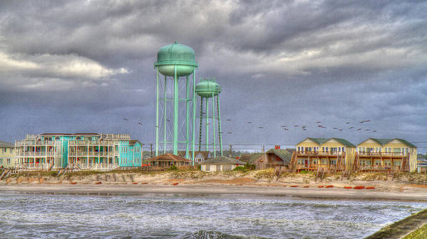 Topsail Art Print featuring the photograph Good Morning Topsail Island by Betsy Knapp