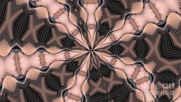 Kaleidoscope Art Print featuring the photograph Kaleidoscope 27 by Ron Bissett