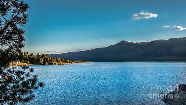 Idaho Art Print featuring the photograph Morning View Of Cascade Reservoir by Robert Bales