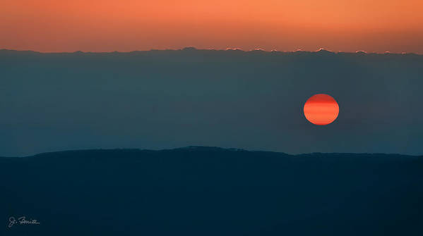 Africa Art Print featuring the photograph Ngorongoro Sunset by Joe Bonita