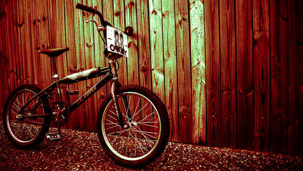 Bmx Art Print featuring the photograph Old School Bmx - Pk Ripper by Jamian Stayt