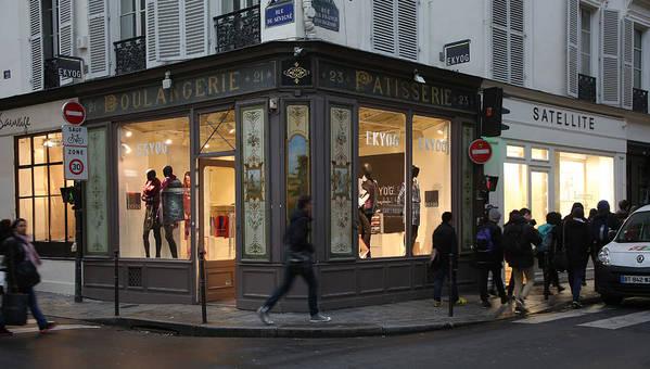 Rue Du Sevigne Art Print featuring the photograph Parisian Evolution by Randi Shenkman