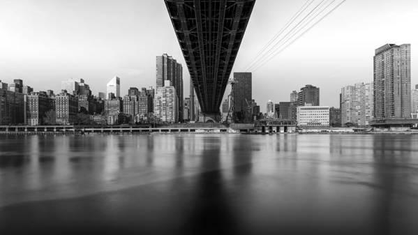 New York Art Print featuring the photograph Under The Bridge by Maico Presente