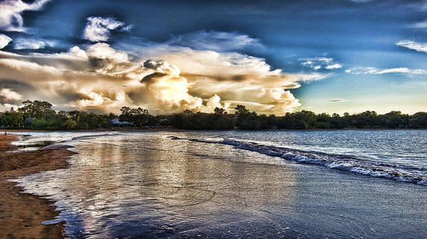 Approaching Storm Clouds Print featuring the photograph Approaching Storm Clouds by Douglas Barnard