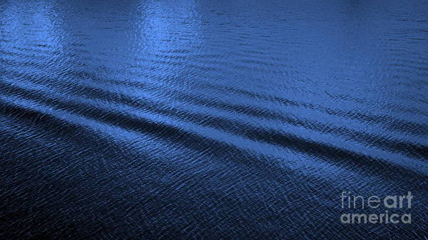 Blue Art Print featuring the photograph Deep Blue Sea by Carol Groenen