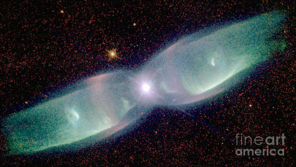 Supersonic Art Print featuring the photograph Supersonic Exhaust From Nebula by STScI/NASA/Science Source