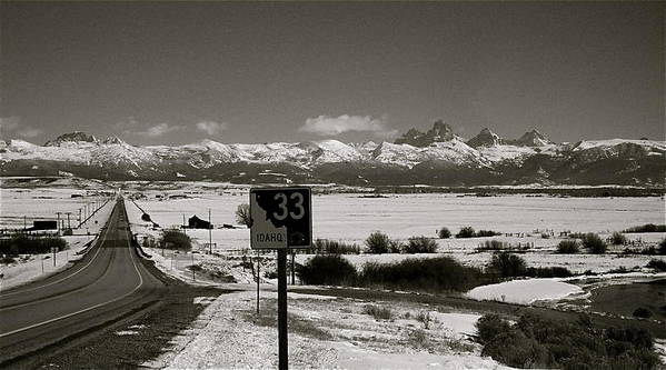 Highway Art Print featuring the photograph The Road Home by Eric Tressler