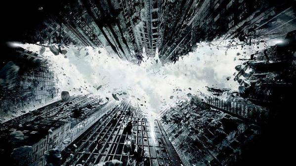 Batman Art Print featuring the digital art The Dark Knight Rises 2012 by Geek N Rock