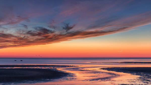 Cape Cod Art Print featuring the photograph Another Day by Bill Wakeley