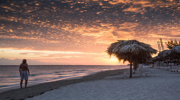 151020 Cuba Varadero Grand Memory Art Print featuring the photograph Before The Sunrise by Nick Mares